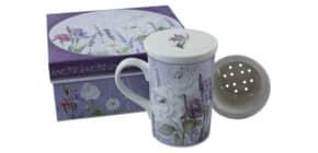 Teeset Lavendel Keramik 3tlg Produktbild