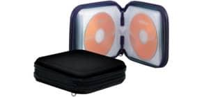 CD Wallet f. 24 CDs schwarz Q-CONNECT KF02204 Produktbild