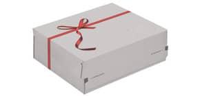 Geschenkbox Medium weiß COLOMPAC 30011648 363x291x125mm Produktbild