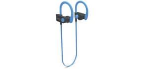 Kopfhörer kabellos, Nackenband,schw./bl. DENVER BTE-110BLUE Produktbild