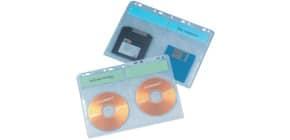 CD Hüllen zum Abheften 10 Stück Q-CONNECT KF002203/78352 Produktbild