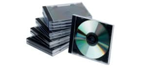 CD Hülle Jewel Case sw/trans Q-CONNECT KF02209 10ST Produktbild
