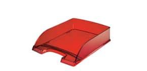 Briefkorb A4 d.rot/transparent LEITZ 5226-00-28 Produktbild