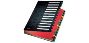 Ordnungsmappe 24teilig schwarz LEITZ 59140095 Karton Produktbild