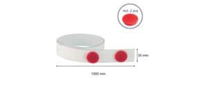 Magnethaftband  weiß Produktbild