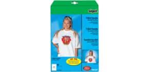 Bügelfolie Inkjet A4 110my, 10 Blatt SIGEL IP651 für helle Textilien Produktbild