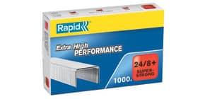 Heftklammer 24/8+ G galvanisiert RAPID 24858500 1000 Stück Super Strong Produktbild