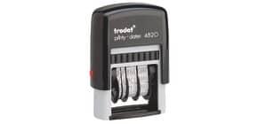 Datumsstempel Printy schwarz TRODAT 4820 4mm schwarz Produktbild