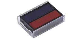 Stempelersatzkissen 6/4850 bl/rt TRODAT 4850 blau/rot 2 Stück Produktbild