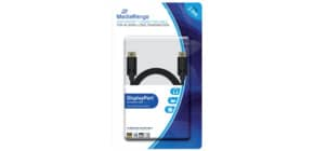 Anschlusskabel DisplayPort 2.0m schwarz MEDIARANGE MRCS159 Produktbild