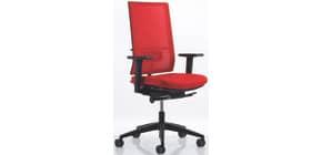 Drehstuhl ohne AL Softsitz rot 5520-N5/KBS/SRW/FL64089/N30 Produktbild