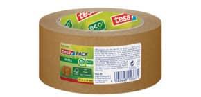 Packband Papier 50mm 50m braun TESA 57180-02 reißfest eco Produktbild