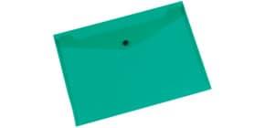 Aktentasche A4 quer grün Q-CONNECT KF03597/01243 Produktbild