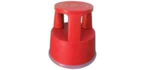 Rollhocker Kunststoff rot Q-CONNECT KF01004 Produktbild