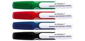 Whiteboardmarker Premium 4ST sortiert Q-CONNECT KF11169 Rundspitze Produktbild