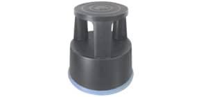 Rollhocker Kunststoff grau Q-CONNECT KF00634 Produktbild