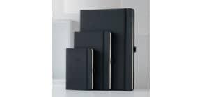Buchkalender 2021 ca. A5 schwarz CONCEPTUM C2114 2 Seiten = links Woche / Produktbild