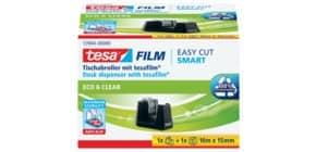 Tischabroller +1RL schwarz TESA 53904-00000-00 Smart eco Produktbild