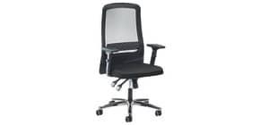 Drehstuhl mit AL  schwarz/schwarz PROSEDIA 30024584 Eccon Netz Produktbild
