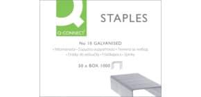 Heftklammern Nr.10 verzinkt Q-CONNECT KF01281 Produktbild