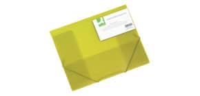 Dreiflügelmappe transluz gelb Produktbild