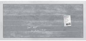 Magnettafel 130x55cm Beton SIGEL GL248 artverumXL Produktbild