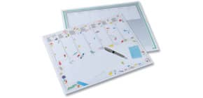 Schreibunterlage 56x44cm Block FOLIA 9934 20Bl Büromotiv Produktbild