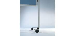 Moderatorentafel blau/grau LEGAMASTER 2052 00 Filzbezug Produktbild
