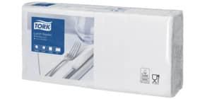 Serviette Zelltuch 200ST weiß TORK 477149 2-lag 1/4 Produktbild