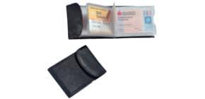 Visitenkartenetui Leder schwarz Produktbild