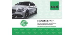 Fahrtenbuch PKW A6 quer, 40 Blatt SIGEL FA614 Produktbild