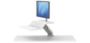 Bildschirmträger für 1 Monitor weiß FELLOWES FW8081701 Produktbild