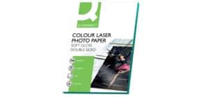 Laserpapier A4 100BL weiß Q-CONNECT KF01935 220g Produktbild