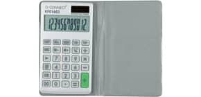 Taschenrechner Solar Q-CONNECT KF01603 12-stellig Produktbild