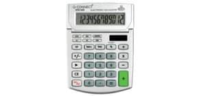 Tischrechner 12-stellig Solar Q-CONNECT KF01605 100x151x33mm Produktbild