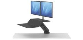 Bildschirmträger 2 Monitore schwarz FELLOWES FW8081601 Produktbild