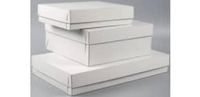 Tortenschachtel Karton weiß STECKFIX 55433 18x18x8cm Produktbild