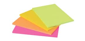 Haftnotizblock 203x152mm Neon POST IT 6845-SS EU 4St Produktbild