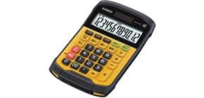 Taschenrechner 12-stellig schwarz/gelb CASIO WM-320MT Batterie Produktbild