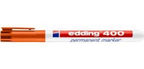 Permanentmarker 400 1mm orange EDDING 400-006 Rundspitze nachfüllbar Produktbild