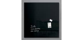 Magnettafel 100x100cm schwarz SIGEL GL200 artverumXL Produktbild
