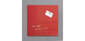 Magnettafel Glas rot SIGEL GL159 300x300x15mm Produktbild