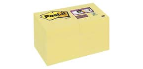 Haftnotizblock 48x48 90 Blatt gelb POST-IT 62212SY 12Bk SuperSticky Produktbild
