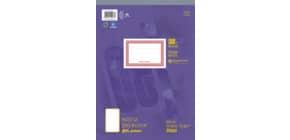 Notizblock A4 48BL glatt URSUS 036448 00 perforiert Produktbild