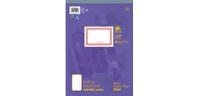 Notizblock A4 48BL liniert URSUS 036448 10 perforiert Produktbild
