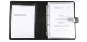Dokumentenmappe A4 schwarz Produktbild