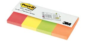 PageMarker 20x38mm Neonfarben POST IT 670-4N 4x50 Blatt Produktbild