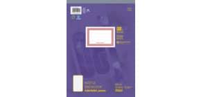 Notizblock A4 48BL kariert URSUS 036448 20 perforiert Produktbild