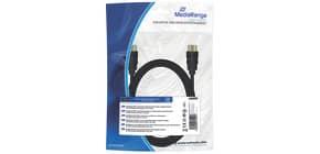 Anschlusskabel HDMI High Speed MEDIARANGE MRCS210 mit Ethernet Anschl. Produktbild