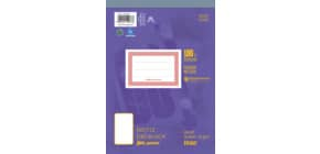 Notizblock A5 48BL glatt URSUS 036548 00 perforiert Produktbild